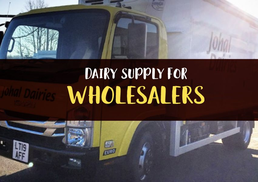 Dairy Supply for Wholesalers