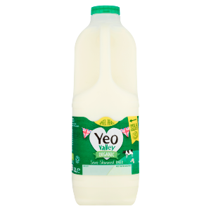 Yeo Valley Family Farm Organic Semi-Skimmed Milk 2L